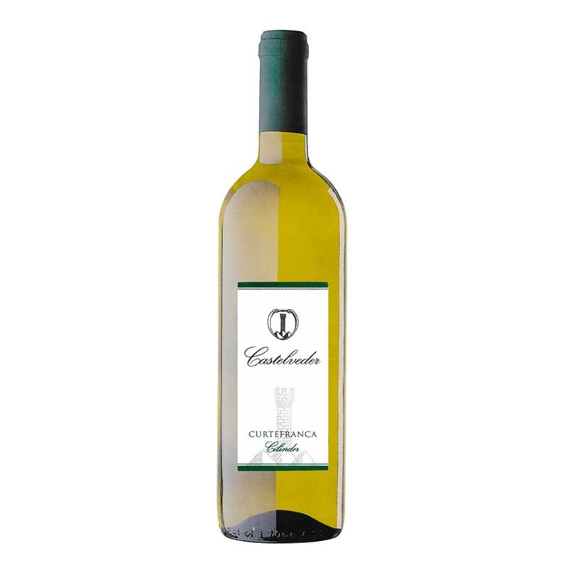 CURTEFRANCA DOC BIANCO 2014 0.75 L- Castelveder