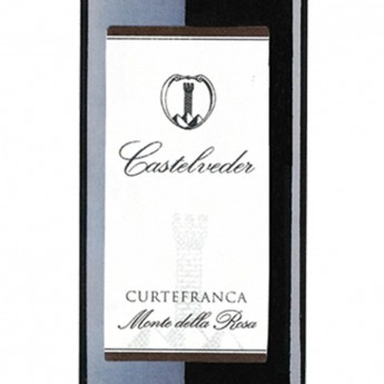 CURTEFRANCA DOC ROSSO MONTE DELLA ROSA 0.75 L - Castelveder