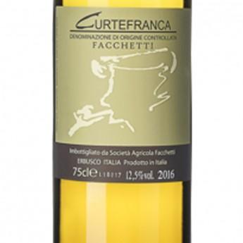 CURTEFRANCA DOC BIANCO  - 0,75 L - Facchetti