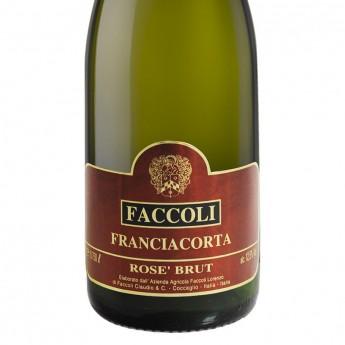 FRANCIACORTA DOCG ROSE' - 0,75 L - Faccoli