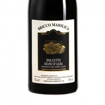 DOLCETTO DIANO D'ALBA DOC Rosso 2010 - 0,75 L - Bricco Maiolica